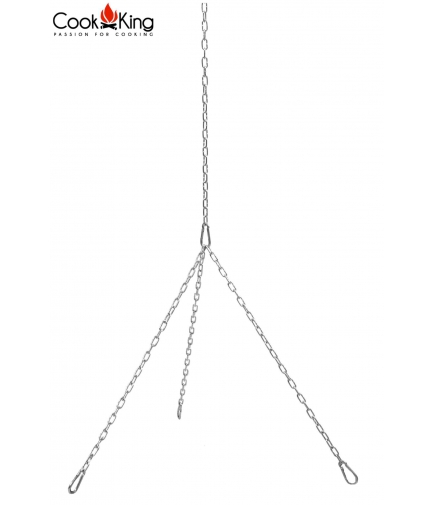Zestaw łańcuchów i karabińczyków