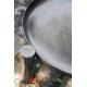 Grill stal czarna 80cm + palenisko Palma 100cm