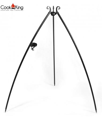 Trójnóg do grilla i kociołka z kołwrotkiem 200cm